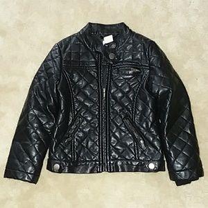 Joe Fresh Faux Leather Jacket 4y